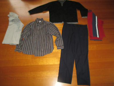 5 Mens Assorted Tops Including a Jumper and Trousers - Size L
