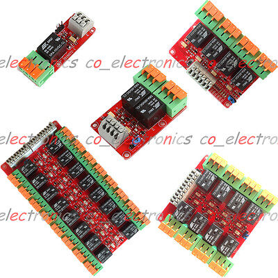 1/2/4/8/16 Channel 20A 5V Relay Control Module for Arduino UNO R3 Raspberry Pi