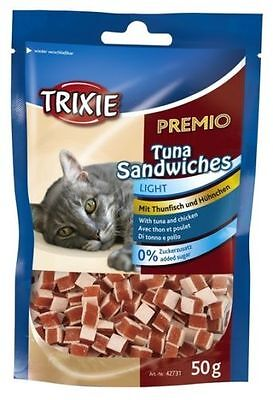 Cat Treats Food Snacks Candies with tuna and chicken - no added sugar - Light