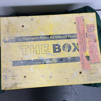 THE BOX Temporary Power Distribution Center ELECTRICORD - temp electrical power
