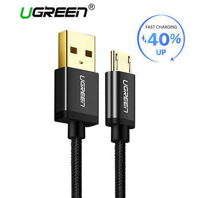 5V2A Micro USB Cable,Ugreen Fast Charging Mobile Phone USB Charger Cable