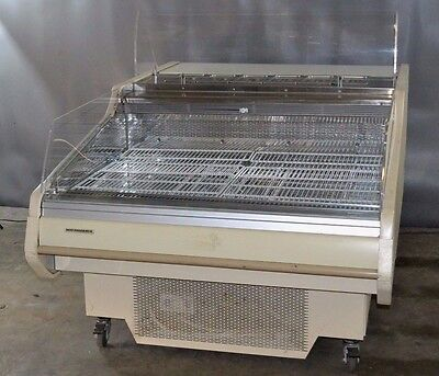 Used Hill Phoenix 49' Sandwich Prep Table/Display Case, Excellent Free Shipping!