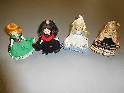 "1960's Lot (4) Vogue Doll Company ""GINNI Dolls"" Vintage/Mid-Century"