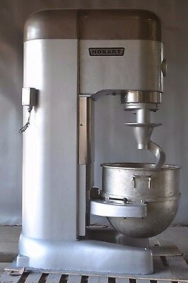 Used Hobart M-802 80 Qt Commercial Mixer, Excellent Working Condition, Free Ship
