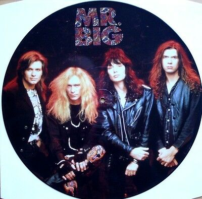 "Ex! Mr Big Green Tinted Sixties 60's Mind 12"" Vinyl Picture Pic Disc"