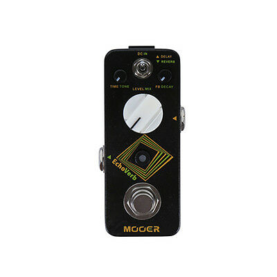 New Mooer EchoVerb Digital Delay and Reverb Guitar Effects Pedal!!