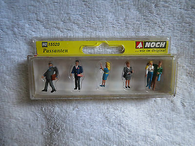 Model Railways - New Boxed Ho Gauge Noch Pedestrians 15520 Scale 1/87