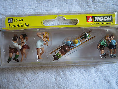 Model Railways - New Boxed Ho Gauge Noch Country Love 15863 Scale 1/87