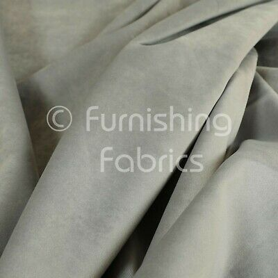 New Soft Plush Plain Glossy Velvet Modern Upholstery Curtain Fabrics In Silver