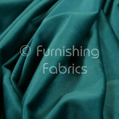 New Soft Plush Plain Glossy Velvet Modern Upholstery Curtain Fabrics Teal Blue