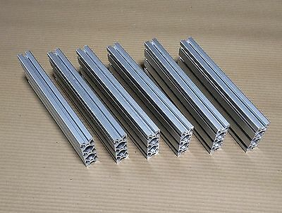 """TNUTZ - EX-1030 - Smooth 1"""" x 3"""" T-Slotted Aluminum Extrusion - Offcuts."""