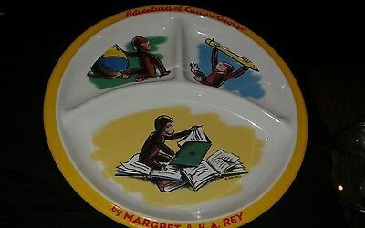 Adventures of Curious George plate playtime / reading    GUC