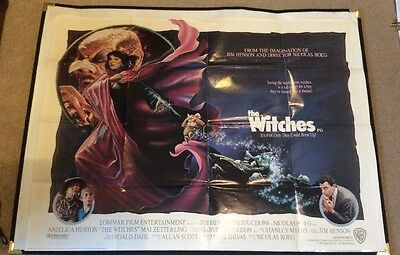 Original 'The Witches' Quad UK Film Poster