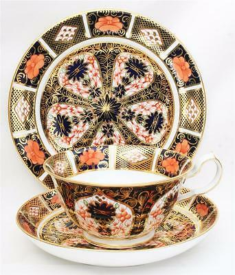 Royal Crown Derby Imari Trio Cup,saucer & Side Plate 1128 1St Quality