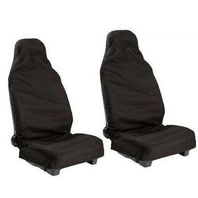 2x Universal Waterproof Nylon Heavy Duty Auto Car Van Front Seat Cover Protector