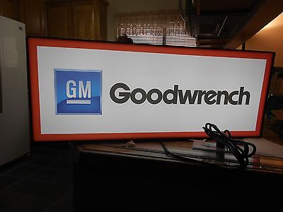 Goodwrench Lighted Sign