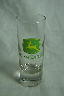 John Deere Shot Glass Showing Corporate Logo