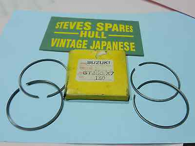 SUZUKI GT250/380 AND X7  1.50 o/s   PISTON RING SETS 12140-33012-150