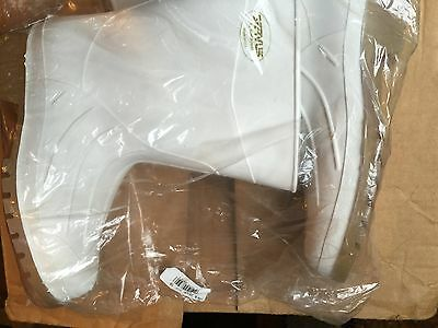 Honeywell Safety 74928 Servus Mens Shrimp Mid Boot with Plain Toe White size 10