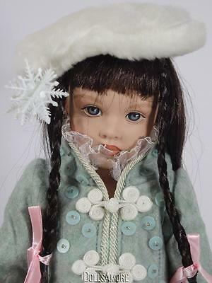 "Helen Kish ""winter "" Doll From The 4 Seasons Collection Of 1997"