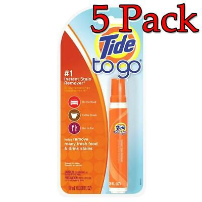 Tide to Go Stain Pen, 0.33oz, 5 Pack 037000015659A268