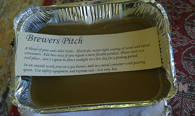Brewers Pitch - sealing for Wood, leather and Tin containers