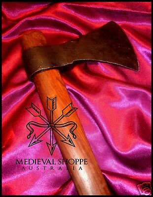 Nordic Axe - SEE PRODUCT VIDEOS! Viking Anglo-Saxon Ax  Sharp & Functional (a87)