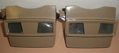 1951 VINTAGE SAWYERS VIEW-MASTER LOT - Model G No. 2014 Beige Brown Viewmaster