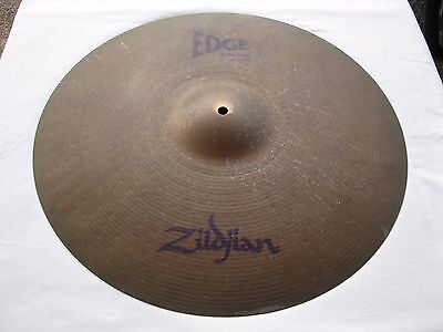 "20"" Zildjian Edge Cymbal Solid Ride"