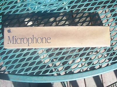 APPLE COMPUTER  MICROPHONE 699-5103-A NIB 1991 made in Taiwan never opened