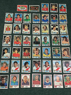 Argentina Panini Wc 1978 New Original Stickers !