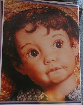 """LASTING IMPRESSIONS DOLL MOLD ~ 24"""" JOEY GROWED UP Head Mold ~ C. MARSCHNER"""