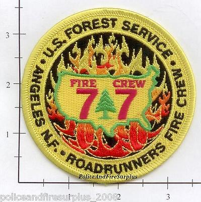 California - Angeles National Forest CA Fire Patch  Roadrunners Fire Crew 77