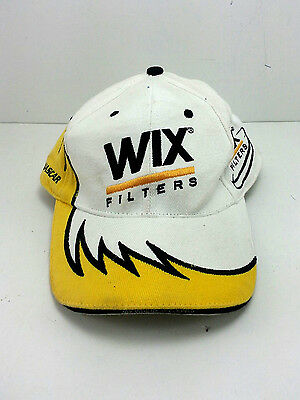 WIX Filters Adjustable Cap Nascar Lap Leader Racing Worn