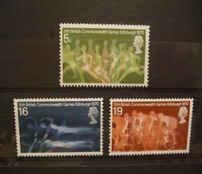 1970 - Gb Stamps - British Commonwealth Games- Mnh