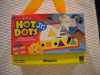 Educational Insights HOT DOTS JR. Double Sided Activity Cards SHAPES