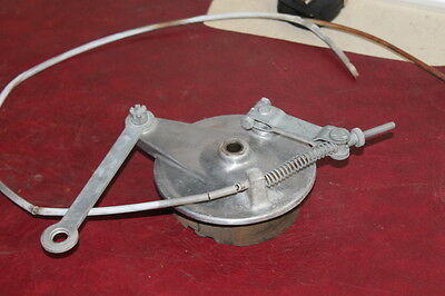 1965 Hodaka Ace 90 Oem Front Drum Brake w/ Cable Stay