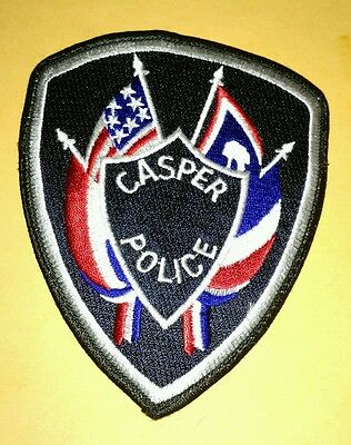 Casper Wyoming Police Patch