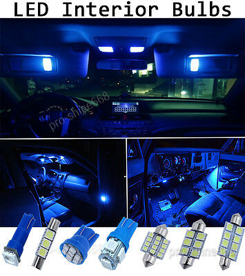 NEW 10000K Blue Interior LED Lights Package Bulb SMD For 2010 2014 Ford  Mustang