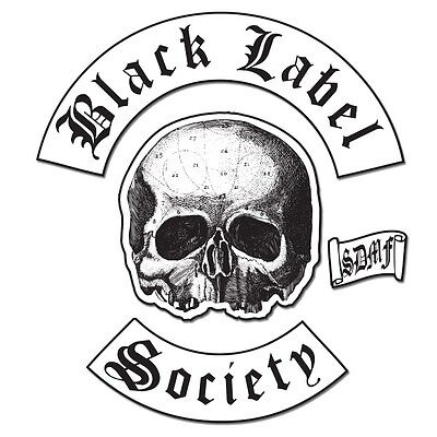Black Label Society: Back Patch Set   New  Official
