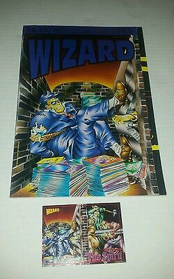 Wizard Magazine 100 Most Collectible Comics Special 1st Edition w/ Card