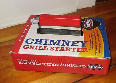 Kingsford Collapsible Camping Grill and Chimney charcoal Starter