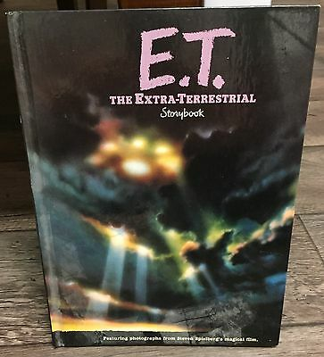 ET The Extra Terrestrial Storybook Picture Book