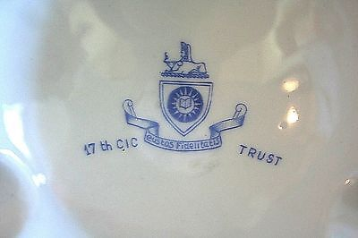 Counter Intelligence Corps 17th CIC Ashtray Trieste US Troops TRUST Sphinx 1950s