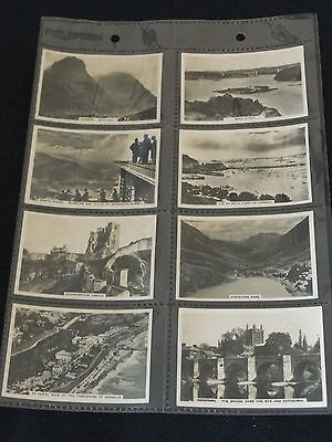 Senior Service Cigarette Cards SIGHTS OF BRITAIN (Second Series) Full Set of 48