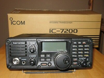 Icom Ic7200 Hf Transceiver Excellent Condition Boxed - Reduced !
