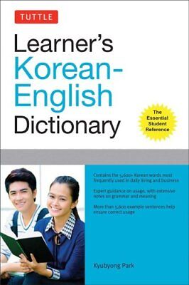 Tuttle Learner's Korean-English Dictionary by Kyubyong Park 9780804841504
