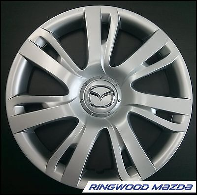 "New Genuine Mazda 2 DE 15"" inch Wheel Cover Hubcap 2010-2014 Part DR6137170"