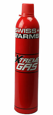 """Bouteille Gaz Airsoft Swiss Arms Extreme Gas Pistolet Billes """"neuf"""" 603506"""