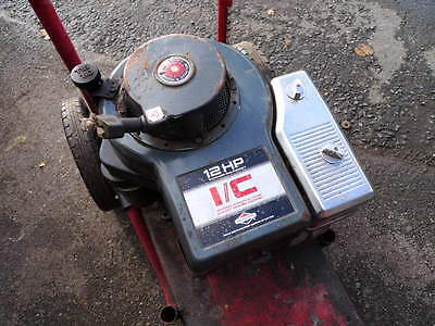 Briggs & Stratton 12 hp ride on mower engine. Westwood, Simplicity, Countax..